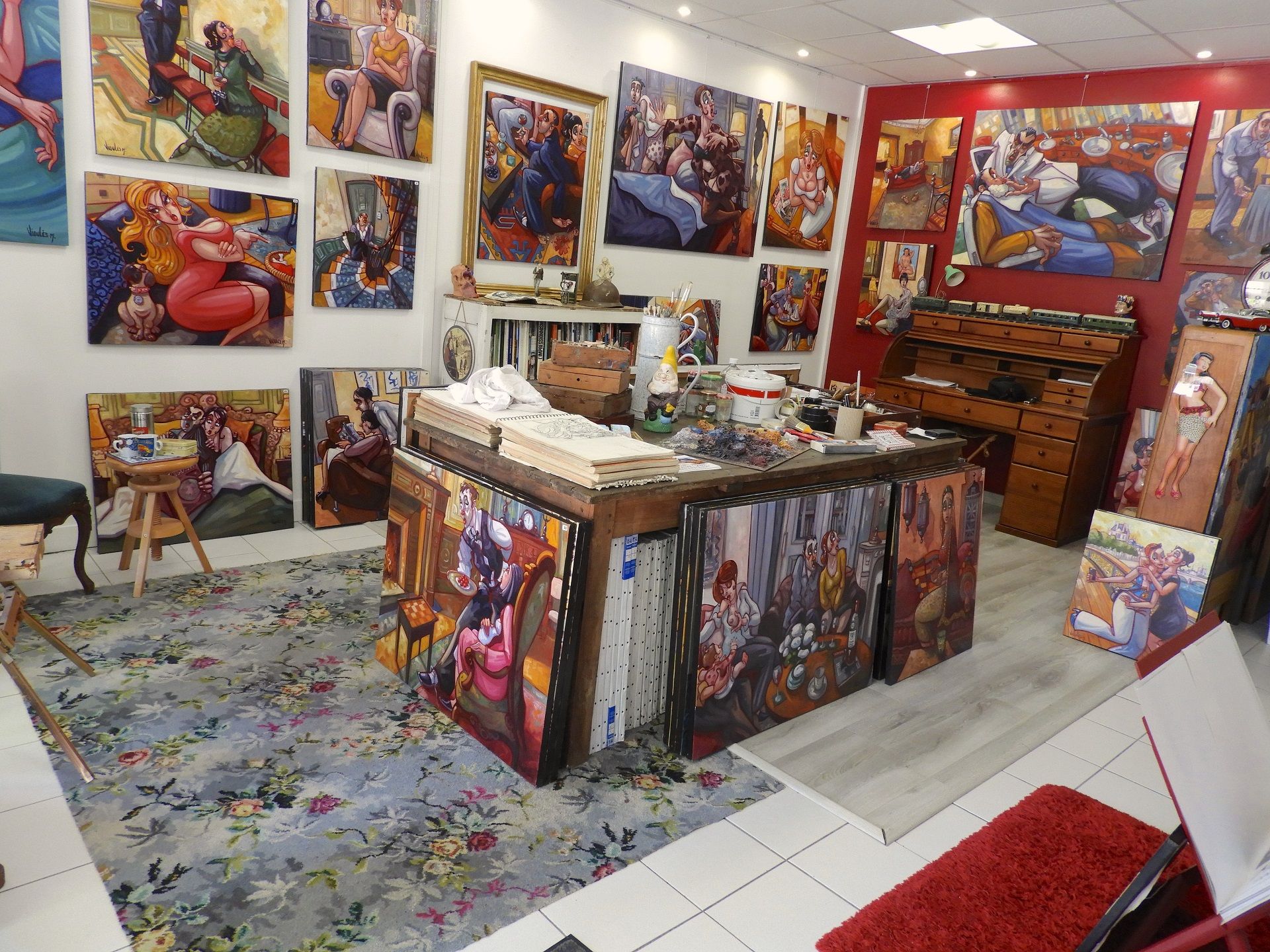 galerie Morbihan ; art Bretagne sud ; Groix