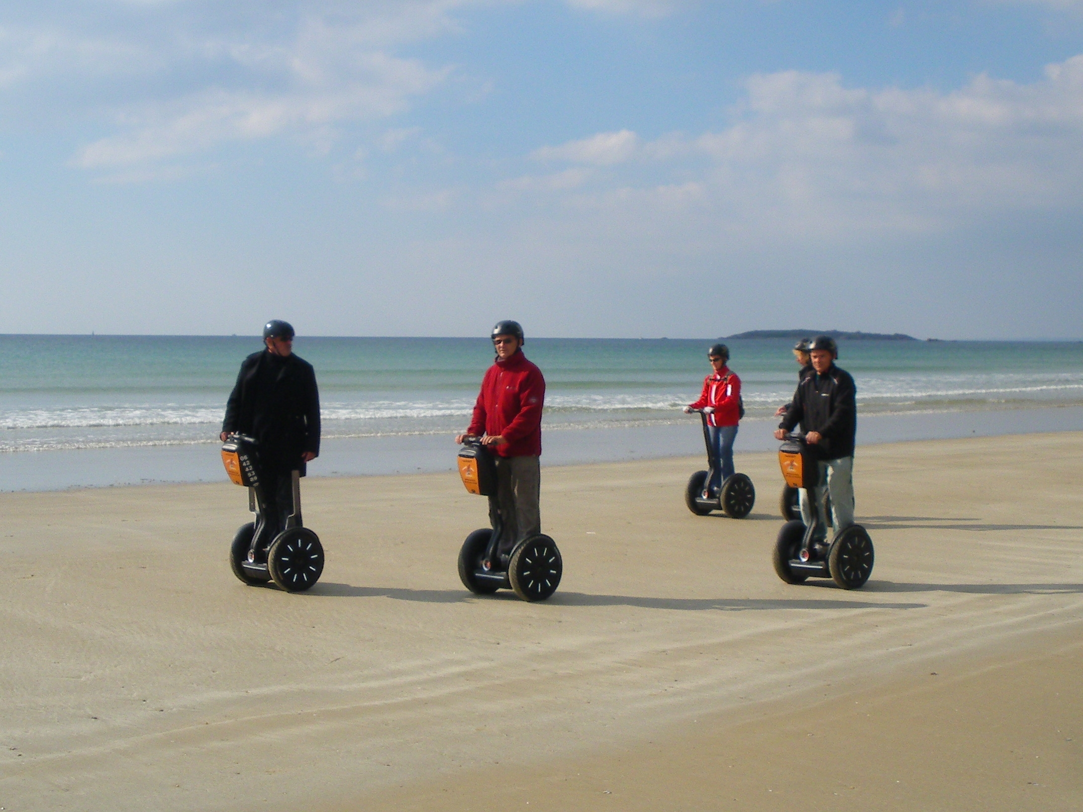 Balade en gyropode Morbihan ; loisirs Bretagne ; Groix