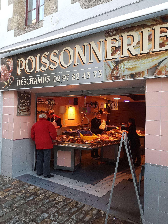 poissonnerie morbihan ; commerce Bretagne sud ; Groix