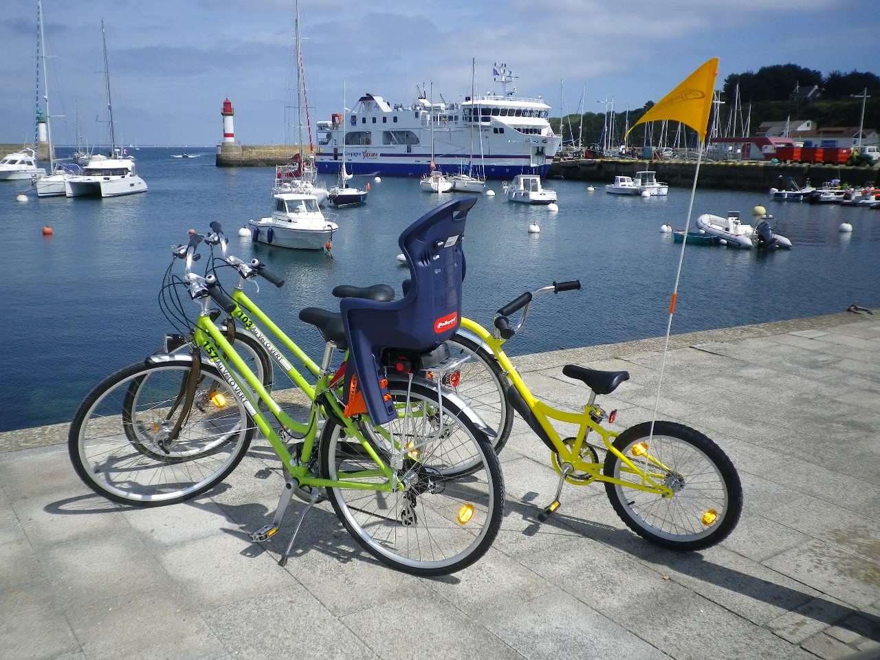 location velo Morbihan ; loisirs Bretagne sud ; Groix