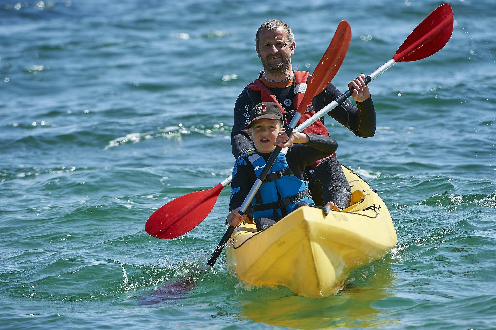 kayak morbihan ; nautisme bretagne ; groix