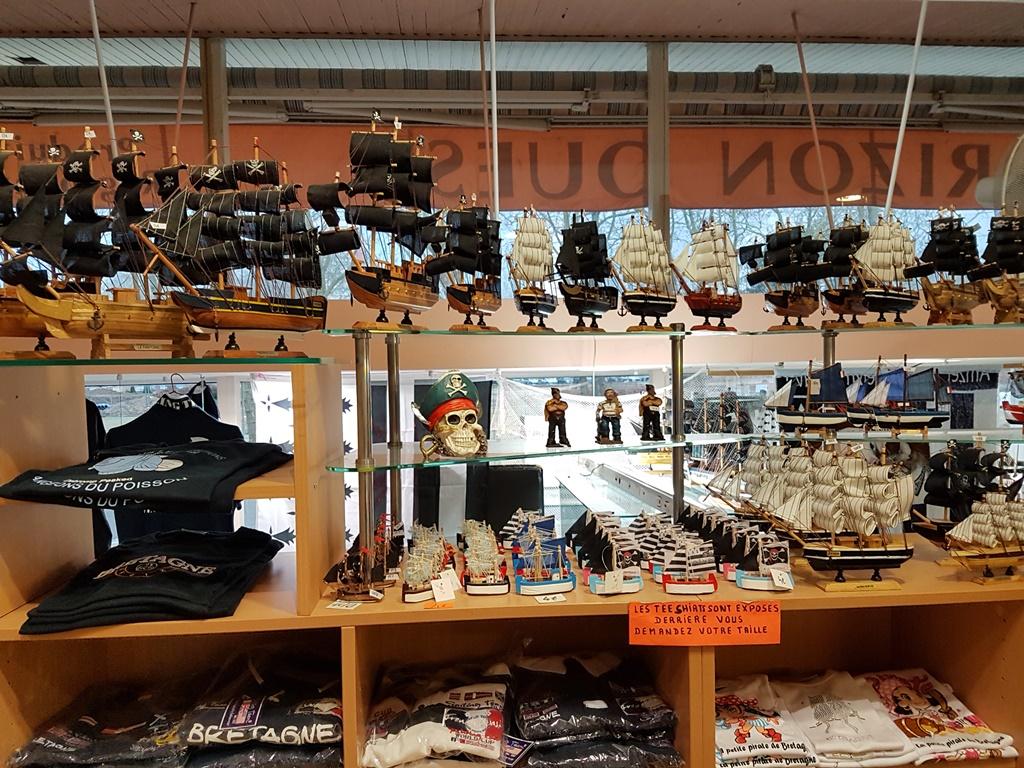 cadeaux-souvenirs Morbihan ; commerce Bretagne sud ; Groix