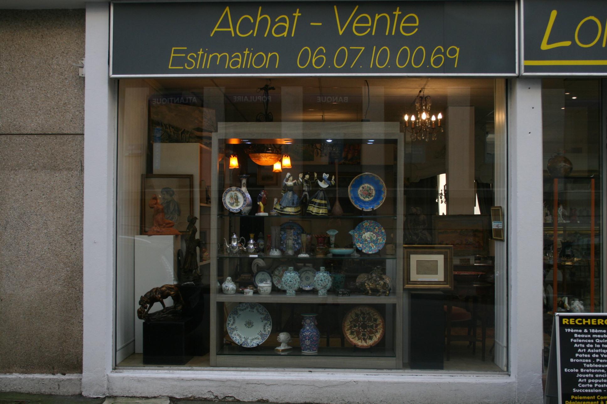 Commerce lorient ; Commerce Morbihan; Bretagne sud