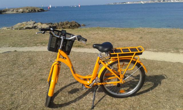 Le vélo mandarine