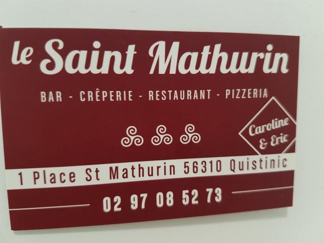 Restaurant Le Saint Mathurin