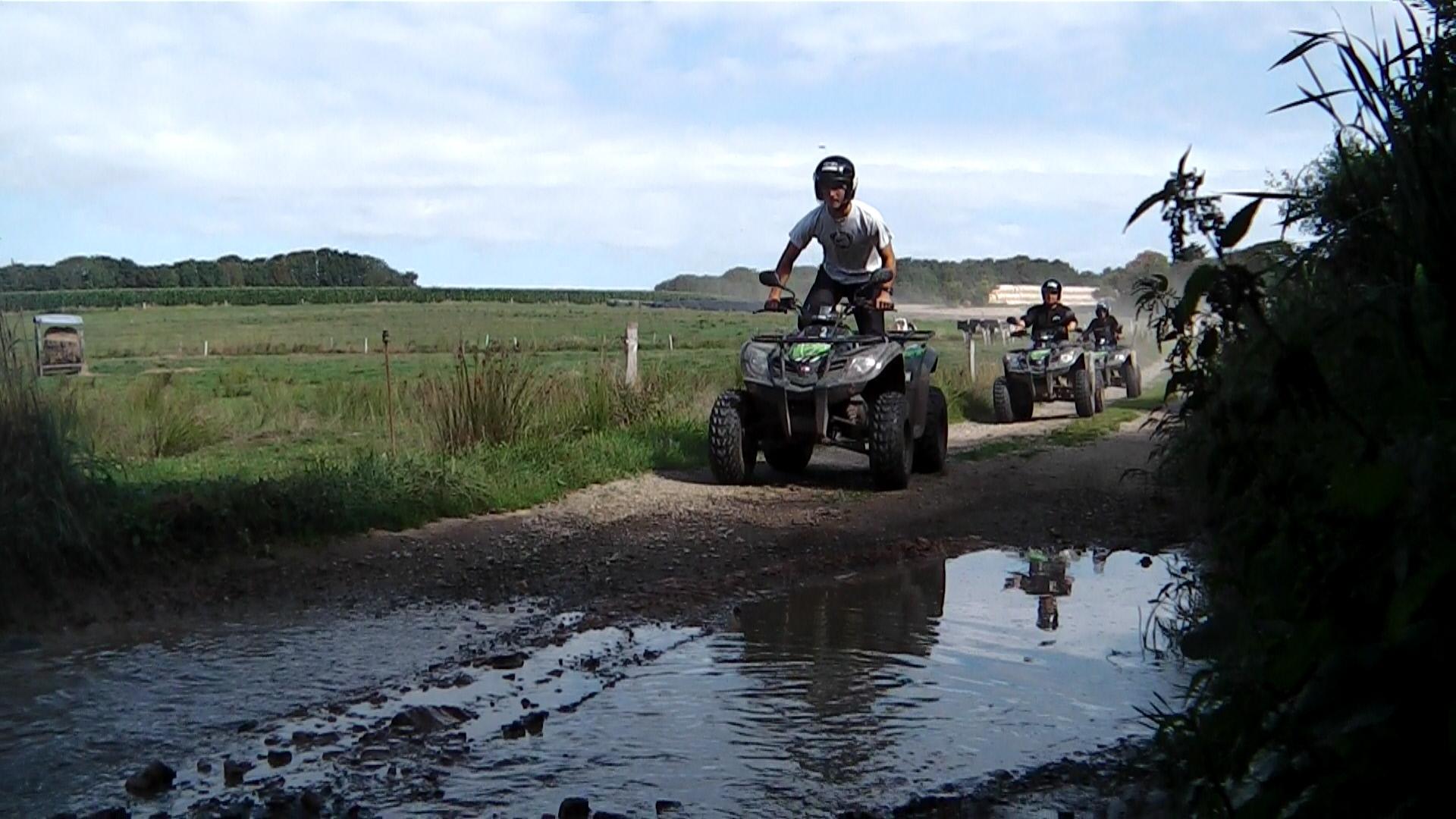 Quad Morbihan ; loisirs Bretagne ; Groix